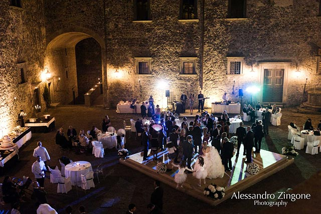wedding planners at the Odescalchi Castle in Rome