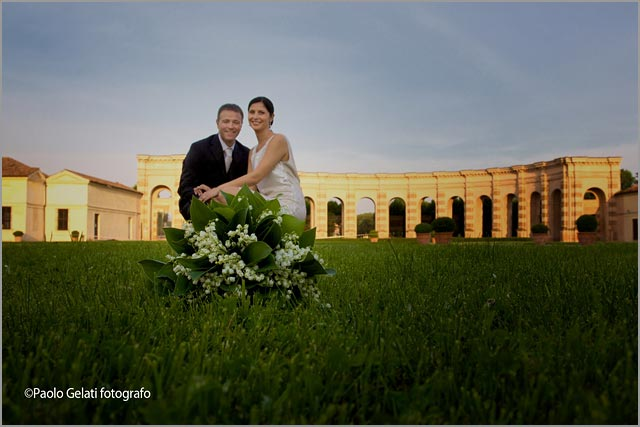 Palazzo Te weddings in Mantua