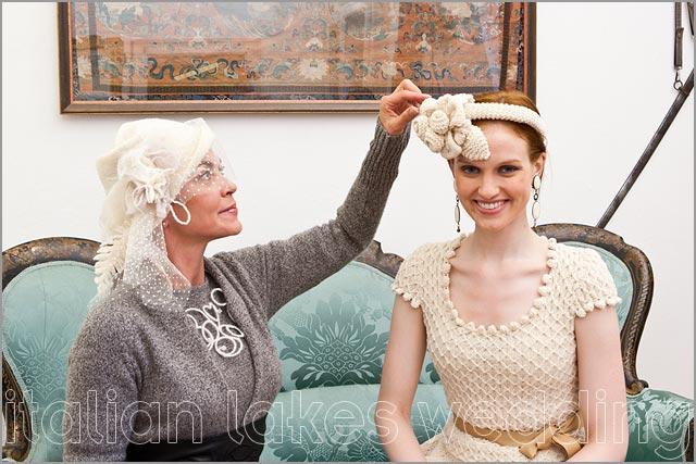 italian wedding hats