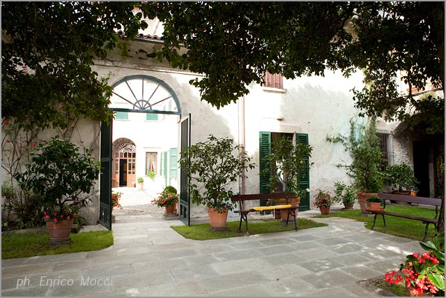 Gemelli Palace wedding reception venue in lake Orta