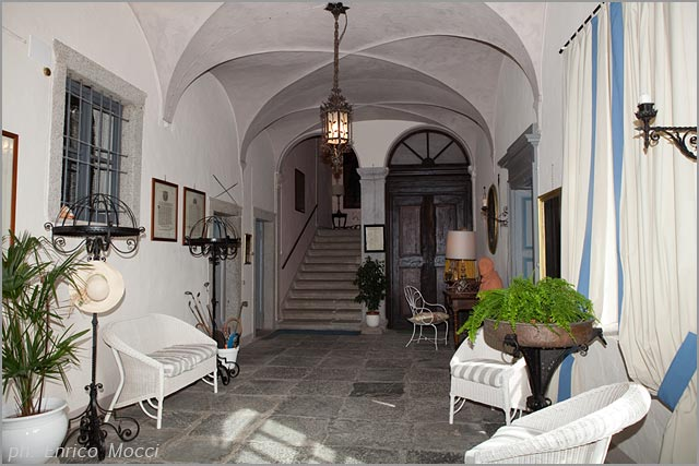 Palazzo Gemelli wedding reception venue in Orta