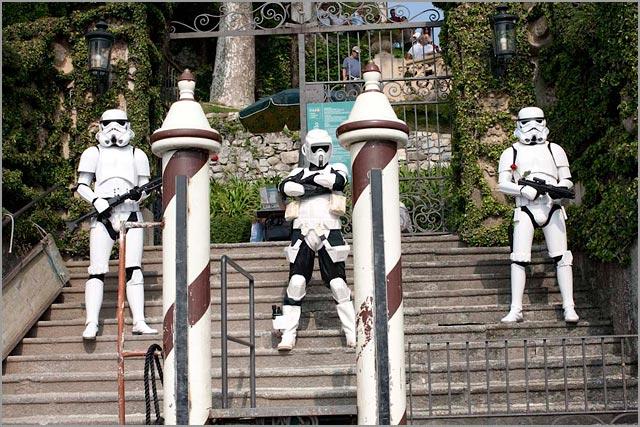 Star Wars wedding at Villa Balbianello