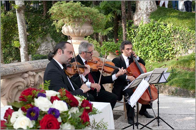 classical music at Villa Balbianello lake Como