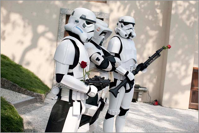 Star Wars wedding at Villa Balbianello Lake Como