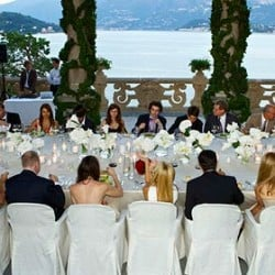 Pure Luxury in Total White at Balbianello Villa