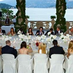 Pure Luxury in Total White at Balbianello Villa