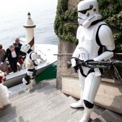 Star Wars wedding at Balbianello Villa