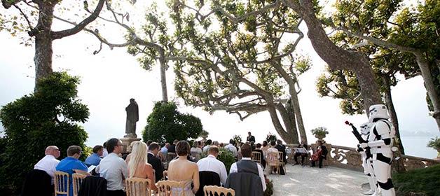 Star Wars Wedding At Villa Del Balbianello On Lake Como