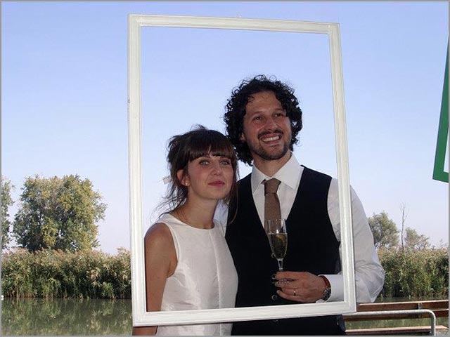 ECOFRIENDLY WEDDING ALONG THE RIVER MINCIO IN MANTOVA