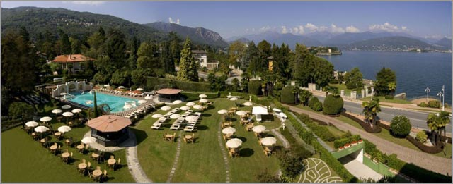 Grand Hotel Bristol weddings in Stresa