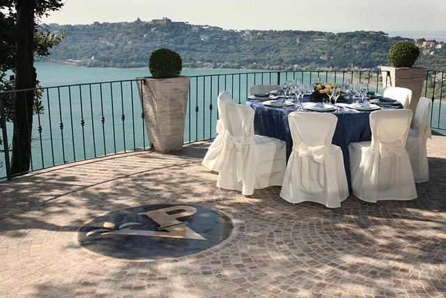 Lake Albano wedding reception venues in Rome