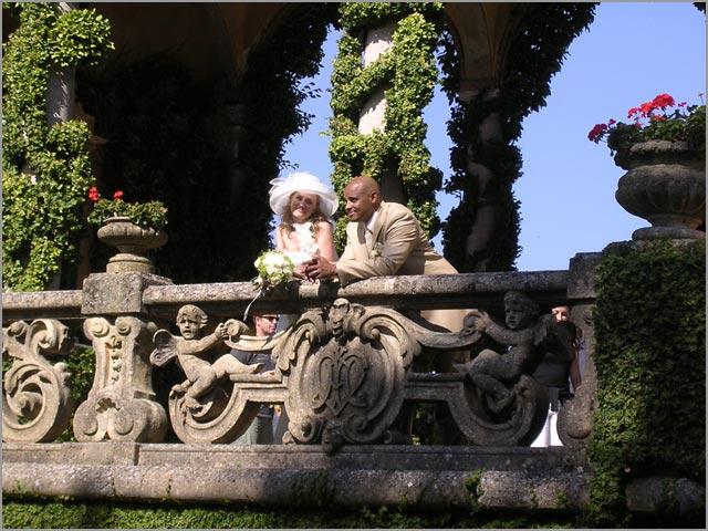 Villa del Balbianello Comer See Hochzeit