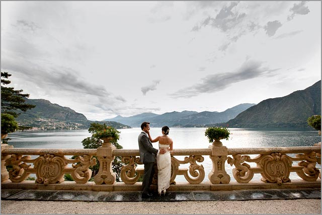 wedding at Villa del Balbianello