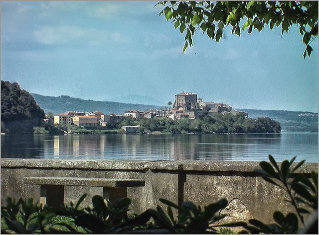wedding on Bolsena Lake