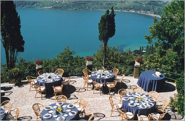 wedding receptions on Lake Albano Rome