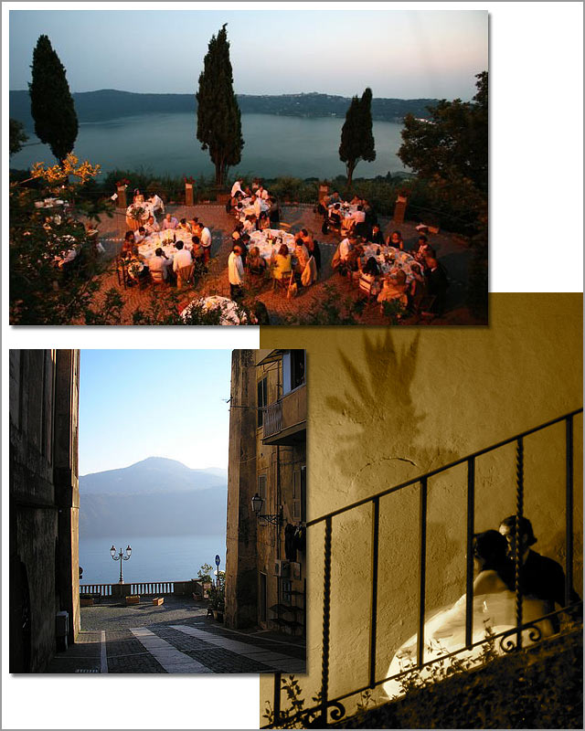 Castel Gandolfo Lake Albano weddings
