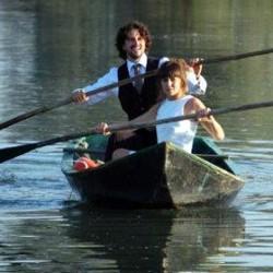 An ecofriendly wedding along the river in Mantova