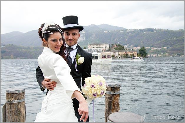 lilac roses bridal bouquet, lake Orta florist