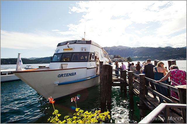 boat rentals for weddings on Lake Orta