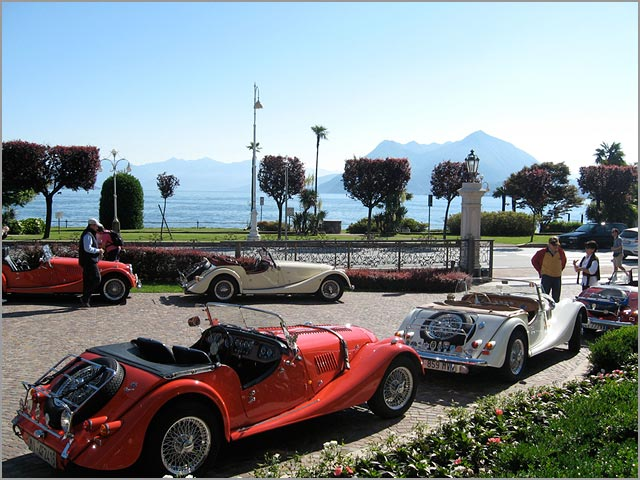 Morgan wedding car hire in Italy