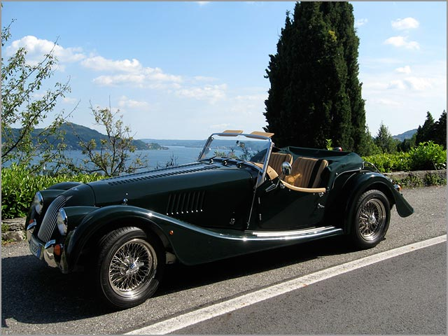 Morgan car rental in Italy