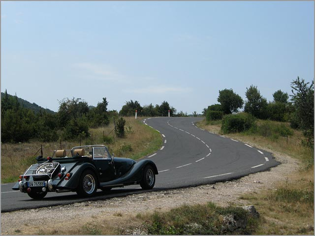 Morgan wedding car rental in Italy
