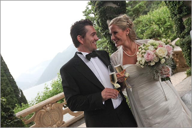 wedding at Villa Balbianello