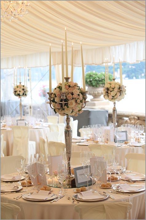 Hochzeit Blumen in Villa Balbianello am Comersee