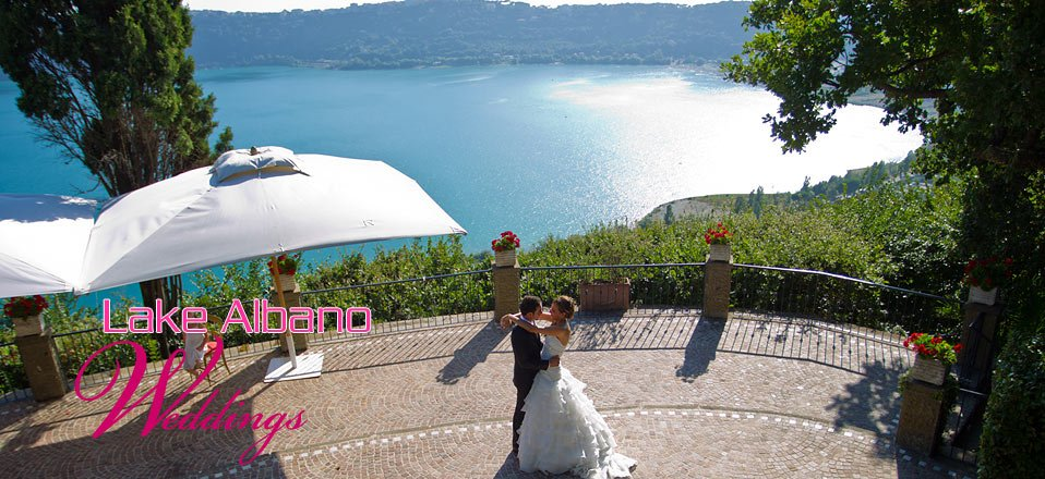 Lake albano wedding