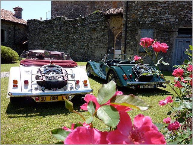 Morgan car hire in Italy