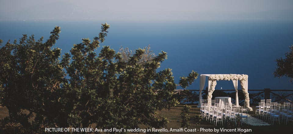 Seaside wedding in Ravello on Amalfi Coast