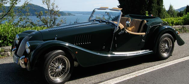 MORGAN… your wedding day on a dream car!