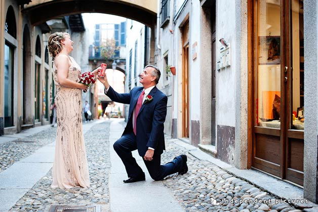 Wedding Vow Renewal in Italy