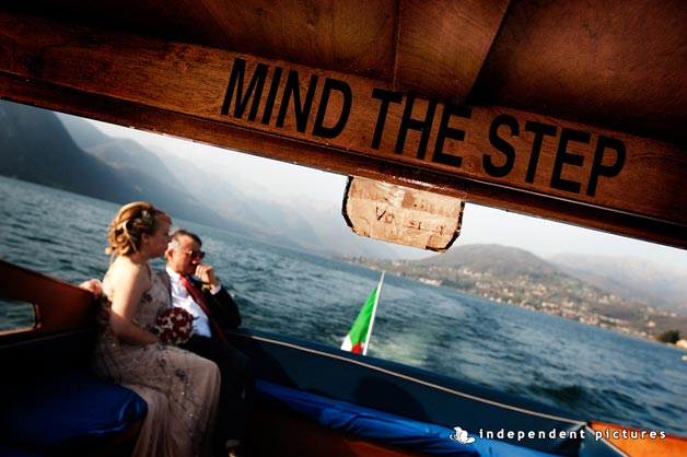 Wedding Vow Renewal on lake Orta Italy