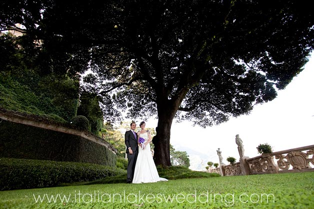 wedding photo services in Villa del Balbianello