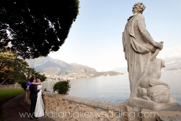 weddings at villa del Balbianello gardens