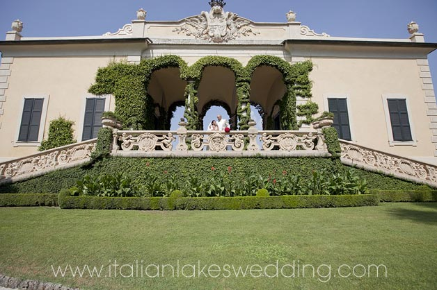 wedding coordinators in Villa del Balbianello
