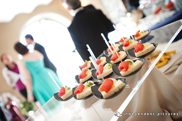 wedding dinner to San Rocco Hotel lake Orta