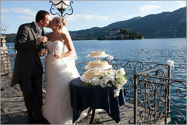 Hotel San Rocco wedding cakes