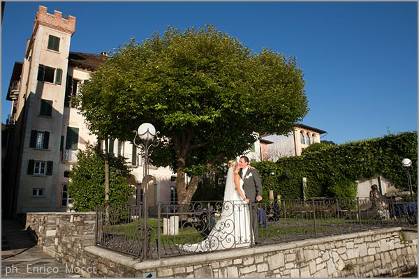 wedding to Villa Gippini Lake Orta