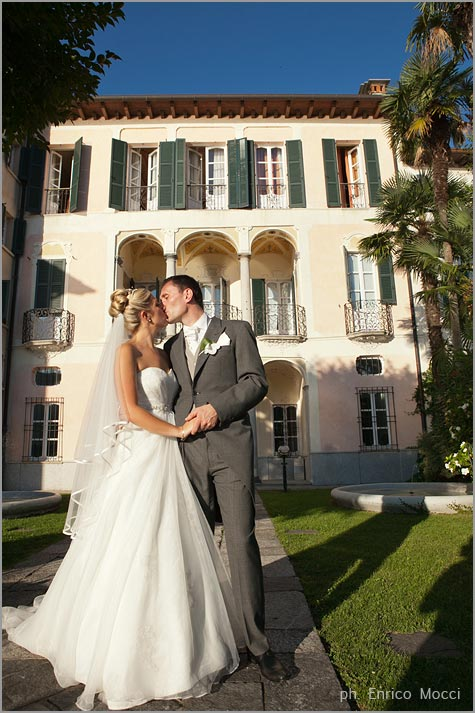 wedding planners in Villa Gippini Lake Orta