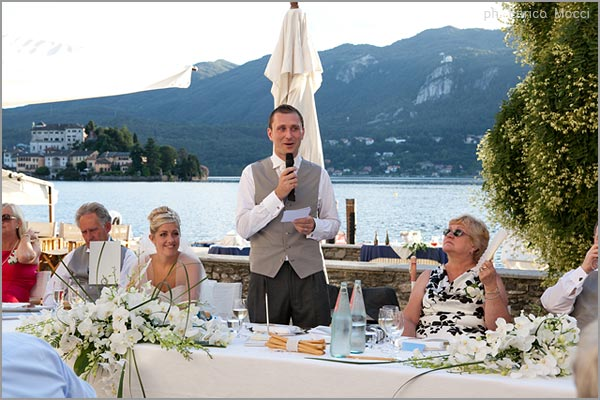wedding speeches in Italy