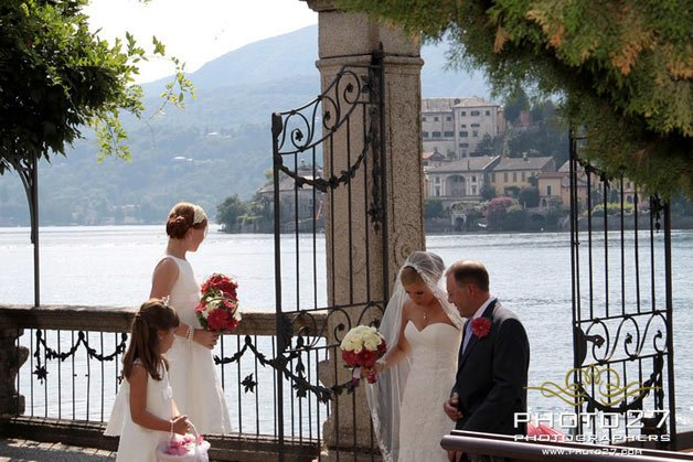 wedding at Villa Bossi