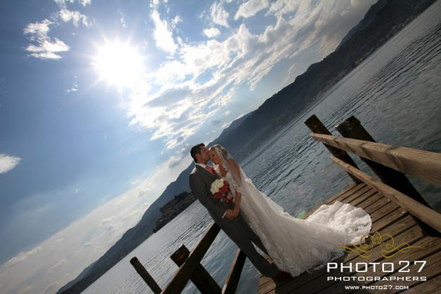 wedding on a budget on Lake Orta