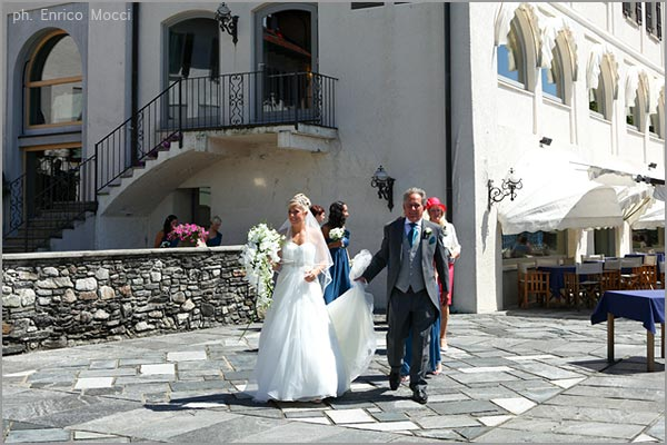 marriage at San Rocco Hotel