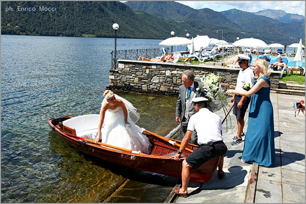 marriage at San Rocco Hotel Lake Orta