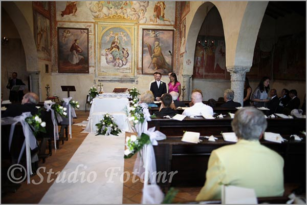 church wedding in Lake Maggiore