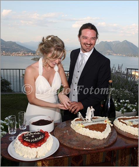 wedding cake in Stresa Lake Maggiore