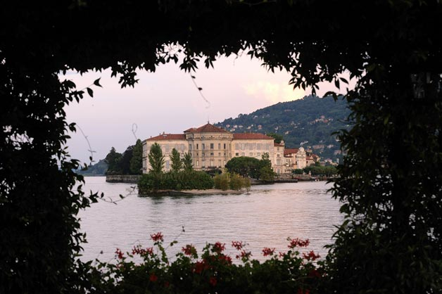 wedding reception on Borromeo Islands Stresa