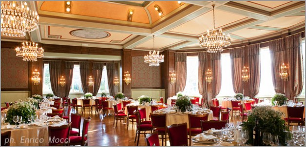 Sala Toscanini weddings at Grand Hotel Majestic in Pallanza